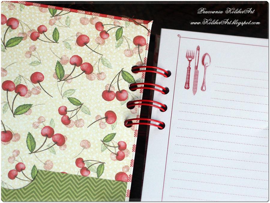 Notes przepiśnik kulinarny W KUCHENNY DESIGN