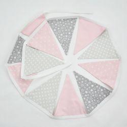 Girlanda z trójkątów, proporczyki