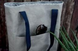 Torba ,torebka damska,na ramię ,kolor szary.