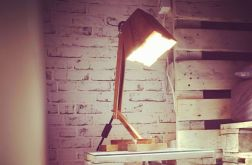Drewniana Lampka Stołowa Przytulna