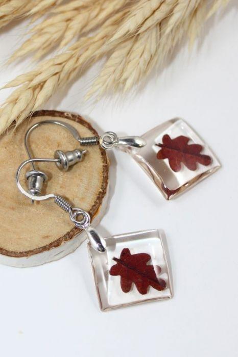 Kolczyki- jesienne liście art. 3
