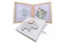 Pamiątka Chrztu Świętego, pudełko na pieniądze- Pp02