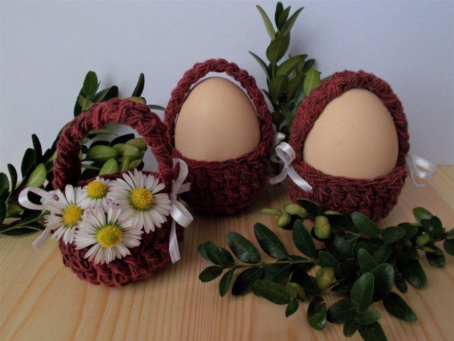 Koszyczki na jajka, 4szt