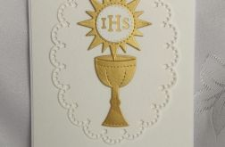 Zaproszenie I Komunia wzór 105