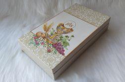 pamiątka I Komunii Św. pudełko na banknoty