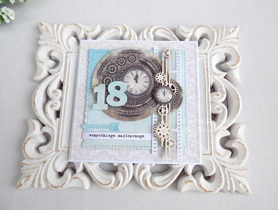 Kartka na 18 urodziny w kopercie 137