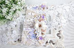 Ślubna kartka kaskadowa w pudełku 237