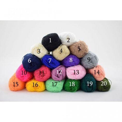 kolory do wyboru - letnia czapeczka
