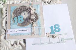 Kartka na 18 urodziny w kopercie 171