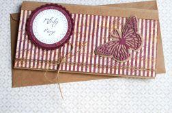 kartka - kopertówka ŚLUBNA :: vinage