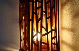 Lampa Drewniana