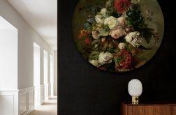 Botanik - obraz w okrągłej ramię