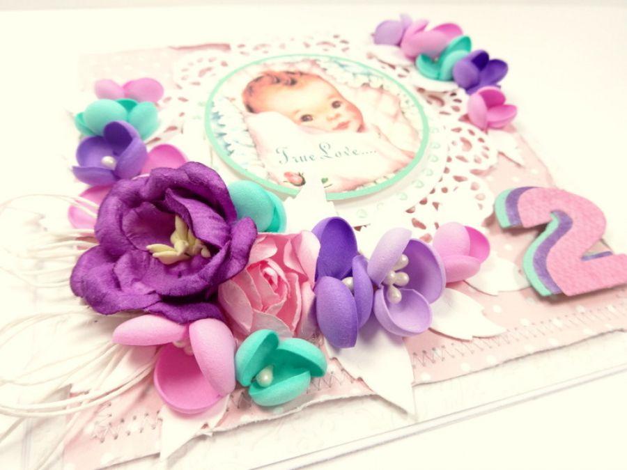 Kartka na 2 urodziny