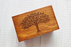 Drewniana szkatułka wzór 1
