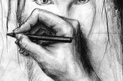 Autoportret - plakat A3
