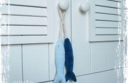 Zawieszki marynistyczne - rybki (błękitna i granatowa)