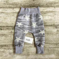 Baggy Szary przetarty jeans rozmiar 74 (697)