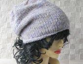 Miękka i ciepła czapka zimowa Lawenda