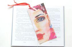 Kolorowa zakładka do książki - woman nr1
