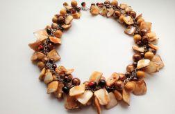 Toffi - Naszyjnik z listków masy perłowej