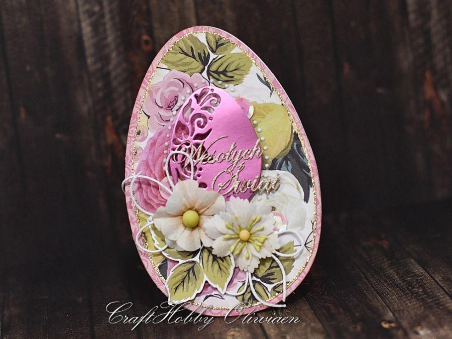 Wielkanocna różana pisanka