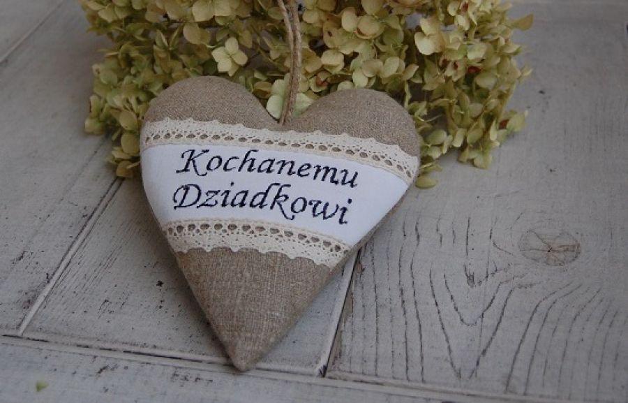 Kochanemu Dziadkowi - serce rustykalne
