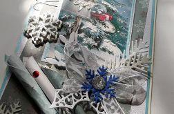 Boże Narodzenie, kartka zimowa