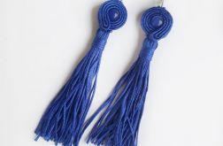 Kolczyki sutasz niebieskie z chwostem #6
