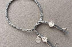 Frozen Braid bransoletka łańcuszkowa warkocz