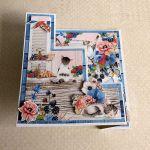 Kartka z kotkami - Kartka złożona