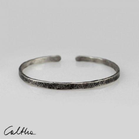 Cienka - srebrna bransoleta 190811-08