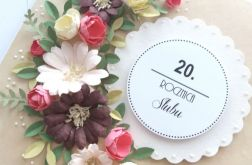 20 Rocznica Ślubu - BARWNY BUKIET