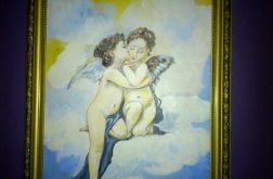 Obraz z aniołkami