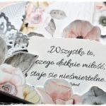 Miłość - kartka ślubna -
