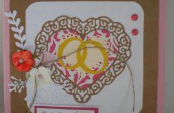 Kartka ślubna - życzenia