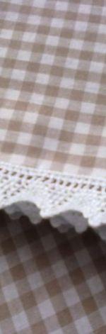 Lambrekin krateczka beżowa