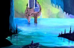 Fantasy-obraz akrylowy