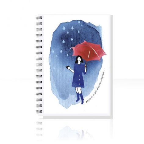 po deszczu TĘCZA... notes A5