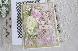 Kartka ślubna w pudełku 385
