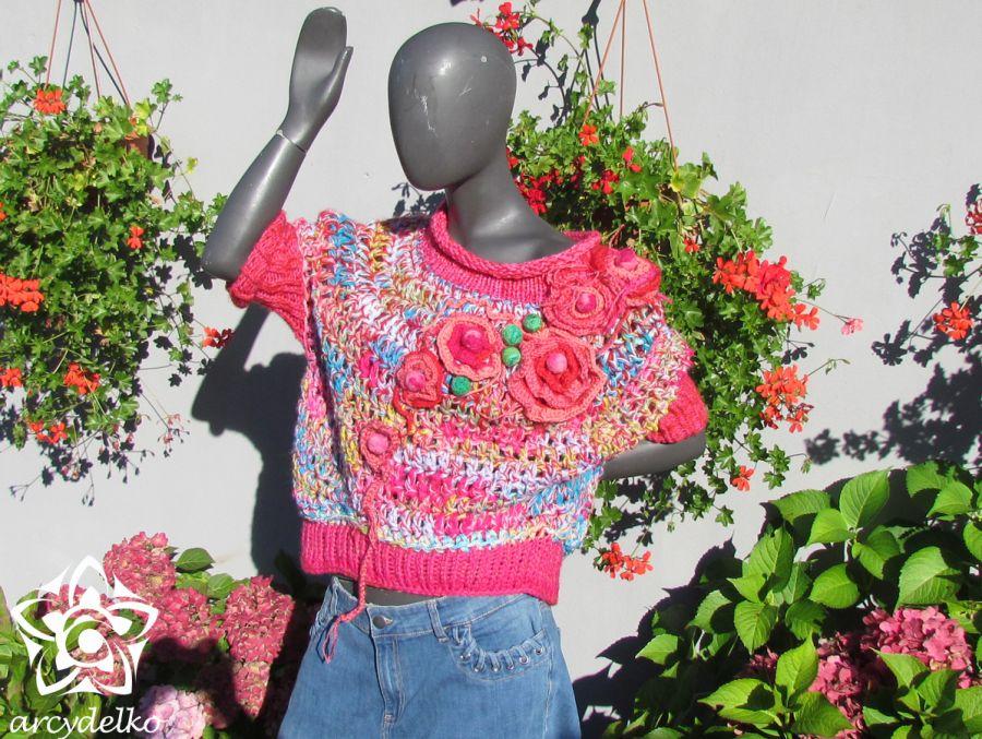 Sweter Różak -