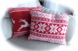Polarowa poduszka 2 wzory