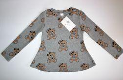 Bluzka tunika dla dziewczynki rozmiar 104