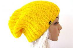 żółta czapka unisex