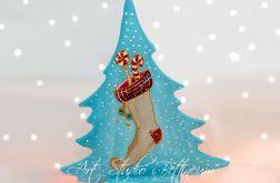 """Choinka """"Świąteczna skarpeta"""""""