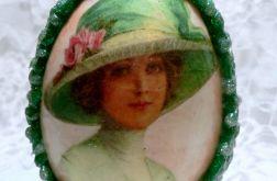 Jajko z klejem na ciepło (zielone)