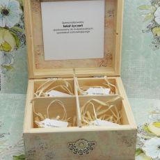 Pudełko ślubne - niezbędnik małżeński NM7