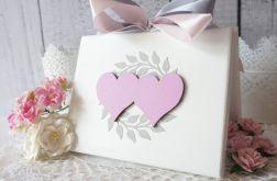 Malowane pudełko na obrączki