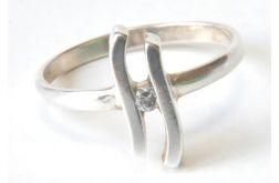 90 delikatny pierścionek vintage,