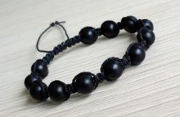 "Makrama ""black balls"" #2"