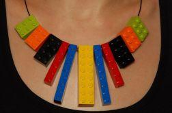Naszyjnik z klocków lego